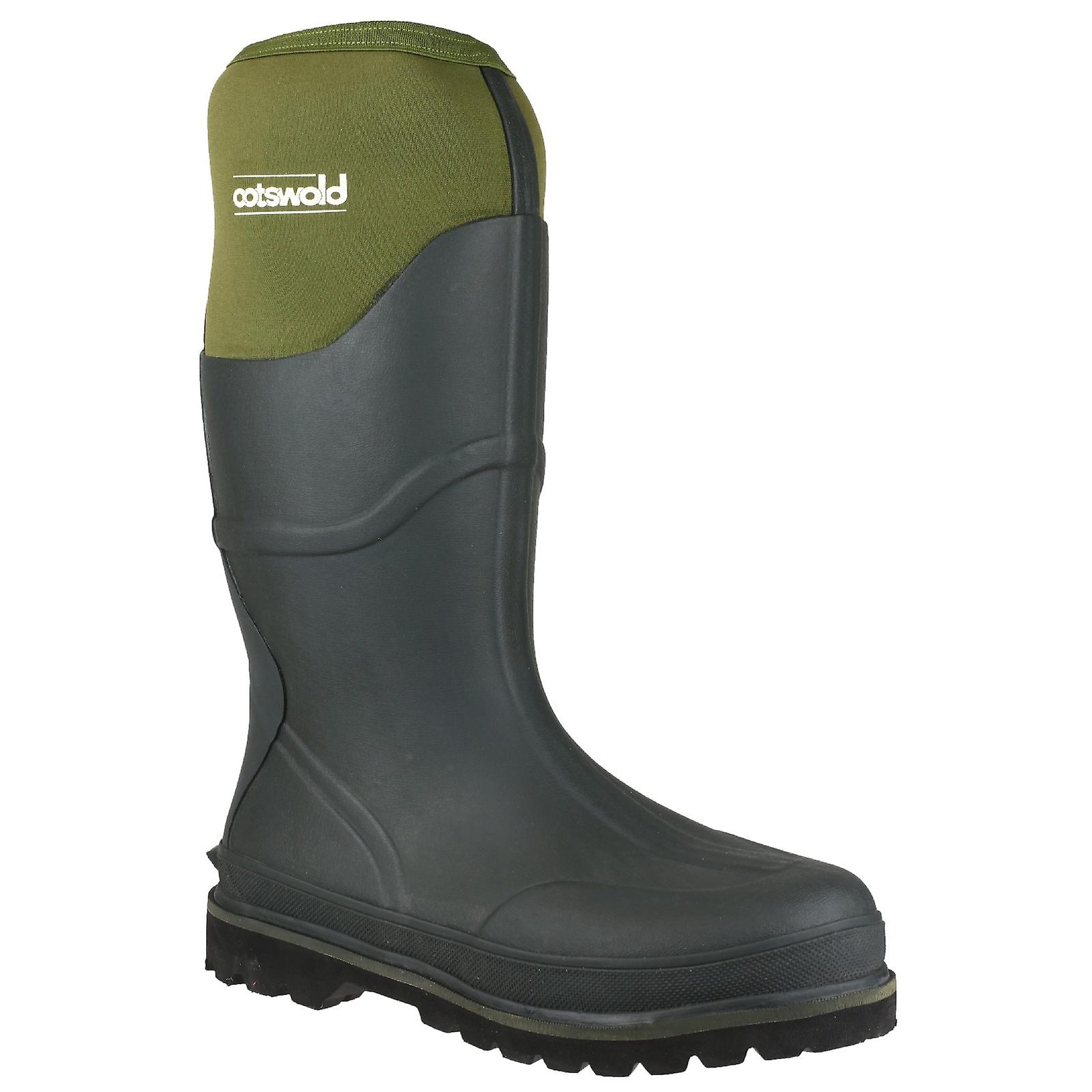 Cotswold Ranger Neoprene Mens Rubber Wellington Boots