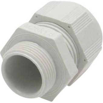 Cable gland M16 Polyamide Light grey (RAL 7035)