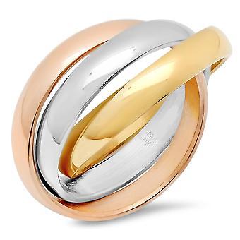 Dames met elkaar verweven Ring
