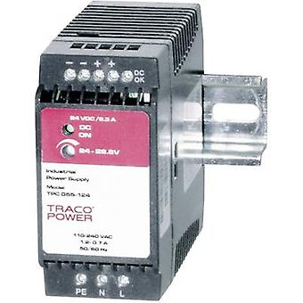 Rail mounted PSU (DIN) TracoPower TPC 055-124 24 Vdc 2.3 A 55 W 1 x