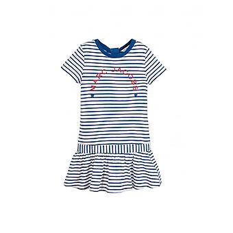 Little Marc Jacobs Striped Logo Dress