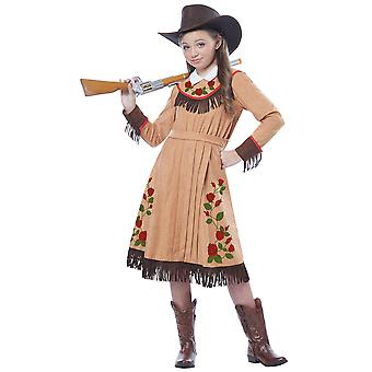 Cowgirl Annie Oakley American Sharpshooter Western Book Week Girls Costume