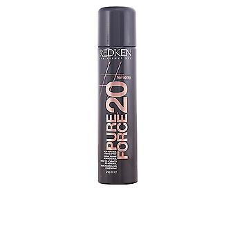 Redken hårspray Pure Force 20 250 ml nye Unisex forseglet Boxed
