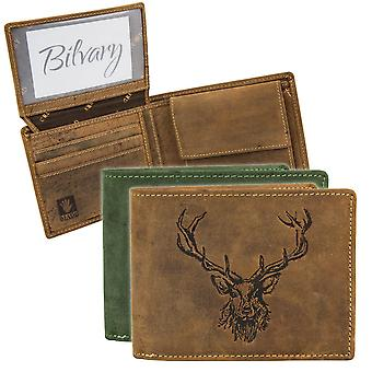GREENBURRY vintage leather purse wallet 1705-RS