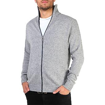 KRISP Funnel Neck Zipped Cardigan