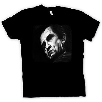 Kids T-shirt - Johnny Cash - Sketch - Portrait