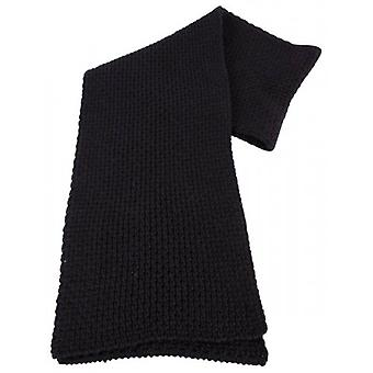 Bassin and Brown Labone Chunky Wool Scarf - Charcoal