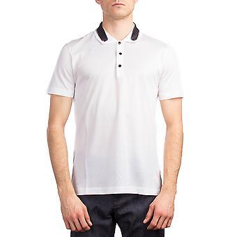 Balenciaga Men's Cotton Short Sleeve Polo Shirt White