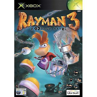 Rayman 3 Hoodlum Havoc (Xbox)