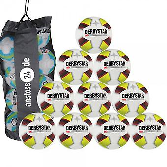 10 x DERBY STAR youth ball - X-Treme PRO S-LIGHT includes ball sack