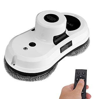 Robot X5 Window Cleaner - Remote Control, Phone App, Backup UPS 600mAh, 4 Cleaning Modes
