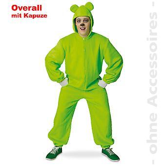 Bear overalls bear suit hooded jumpsuit Gummy unisex costume