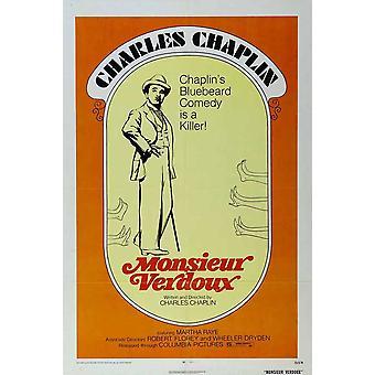 Monsieur Verdoux Movie Poster (11 x 17)