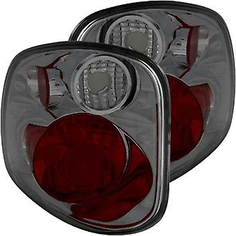 AnzoUSA 211176 Smoke 3 Bulb Model G2 Taillight for Ford F-Series - (Sold in Pairs)