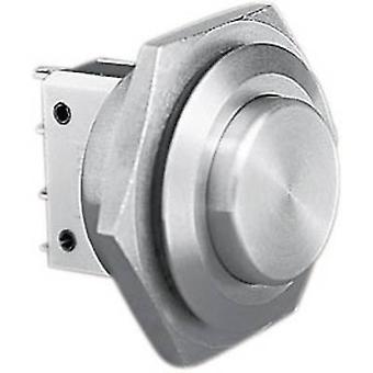 MP0038/2-a prueba de manipulaciones 250 pulsador Bulgin V AC 5 1 x Off/(On) IP66 (bisel delantero sellado) momentáneo 1 PC