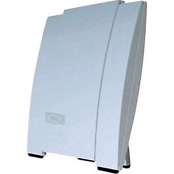 Schwaiger DTA 3000 DVB-T/T2 aktive Dachantenne in Innenräumen, im freien Verstärkung: 20 dB weiß