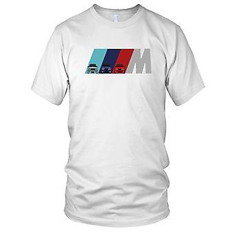 BMW M Power M3 M5 M6 Motorcar Autofahren Herren-T-Shirt