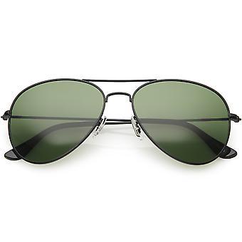 Clásico polarizado gafas de sol Aviator Metal hombres mujeres 57mm