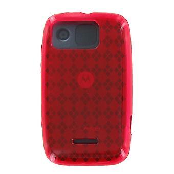 Verizon Citrus WX445 Silicone Gel Case (rood) (Bulk verpakking)