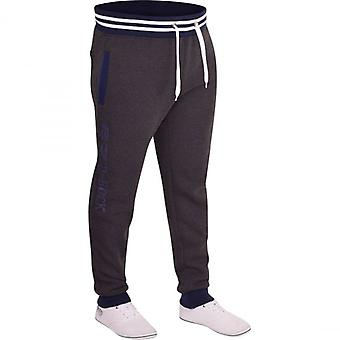 D Rock Mens D Rock Fashion Jogging Bottoms Jogger Combat Casual Fleece Tracksuit Jog Pants