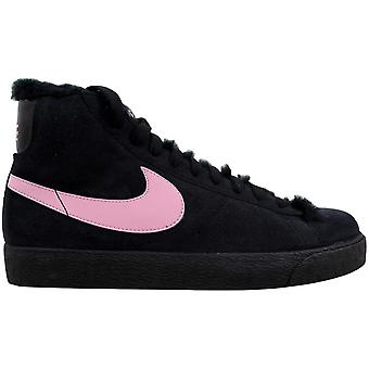 Nike Blazer Boot Black/Perfect Pink 407898-001 Grade-School