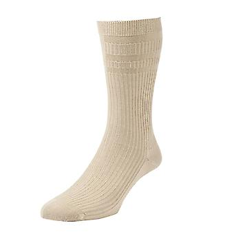2 Pack HJ Hall Softop HJ191 The Original Cotton Rich Non Elastic Socks