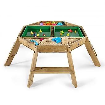 Plum Premium Wooden Octagonal Activity Table Play Table