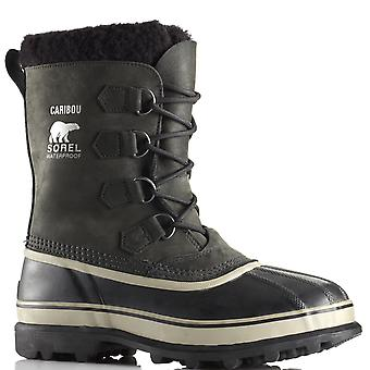 Mens Sorel Caribou Waterproof Nubuck Rain Snow Winter Mid Calf Boots