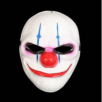 Clown Purge masker maskerade partij partij halloween-blauw strepen