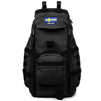 Large backpack in durable fabric model 2018-7230, 62x32x23 cm