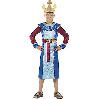 King Melchior Costume, Christmas Children's Fancy Dress, Large Age 10-12