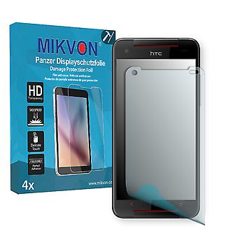 HTC Butterfly S TD-LTE Screen Protector - Mikvon Armor Screen Protector (Retail Package with accessories)