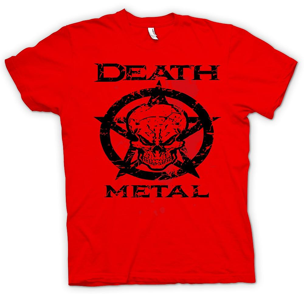 Mens T-shirt - Death-Metal - Thrash-Black-Metal - Musik