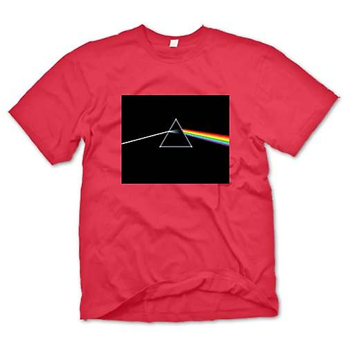 Mens t-skjorte - Pink Floyd - Dark Side Of The Moon