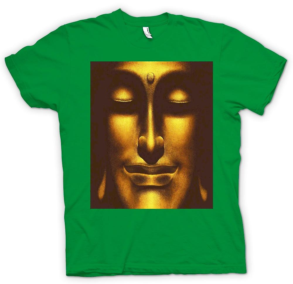 Mens T-shirt-Thai Golden Buddha