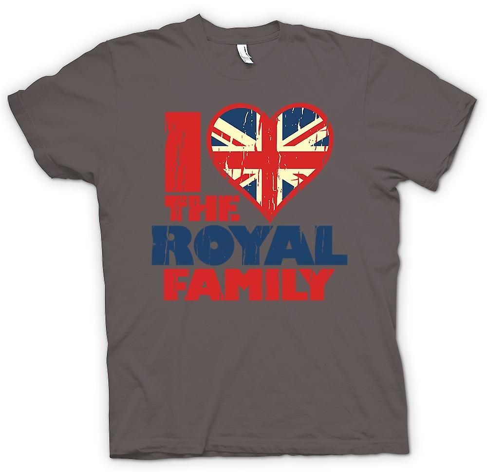 Womens T-shirt - I Love The Royal Family