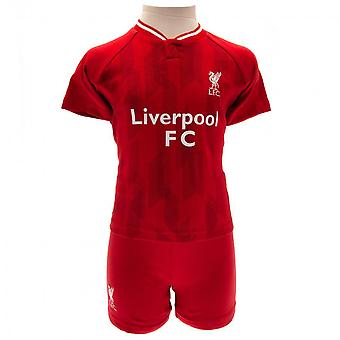 Liverpool FC Childrens/Kids 2018/19 T Shirt And Short Set