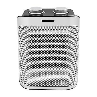Silentnight Ceramic PTC Heater 2 Heat Settings 1500W with Cooling Function, Silver