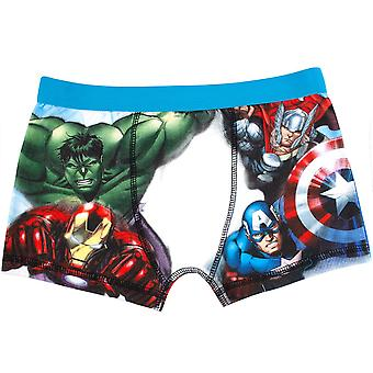 Avengers Assemble Iron Man Boy's Boxer Shorts Multicoloured