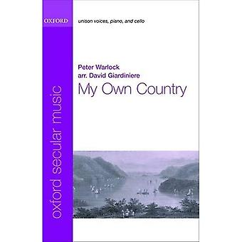 My Own Country: Vocal score
