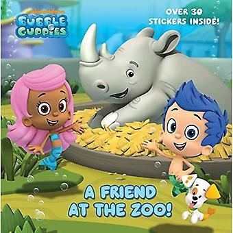 En vän på Zoo (Bubble Guppies) (Pictureback