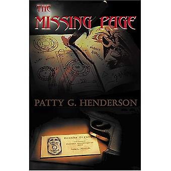 The Missing Page: A Brenda Strange Mystery
