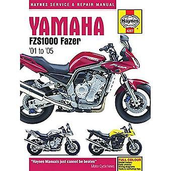 Yamaha FZS1000 Fazer Motorcycle Repair Manual (Haynes Service & Repair Manual)