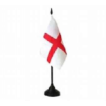 England tabel Flag med stok og Base