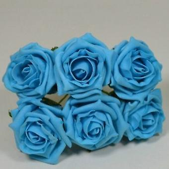 Artificial Cottage Rose Bud Bunch