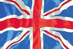 Union Flag steel wall sign (a5)