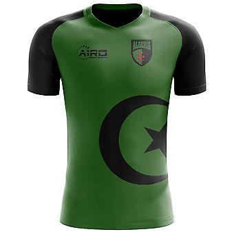 2018-2019 Algeria Flag Concept Football Shirt - Adult Long Sleeve