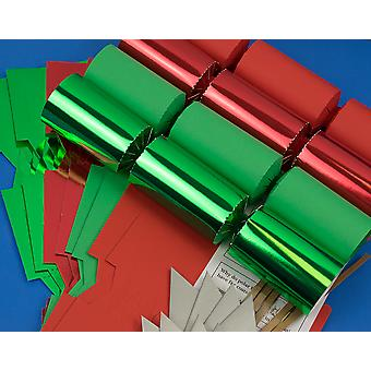 8 Traditional Christmas Luxury Mix Make & Fill Your Own Crackers Kit