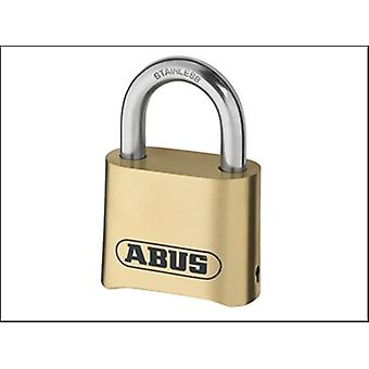 180IB/50 50MM COMBINATION PADLOCK BRASS BODY CARDED