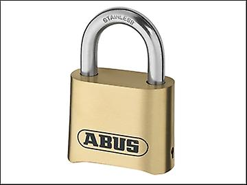 ABUS 180IB/50 50mm Combination Padlock Brass Body Carded